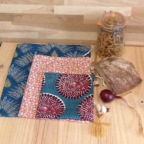 Sachet pour vrac, fruit/légume, ou sachet cadeau réutilisable