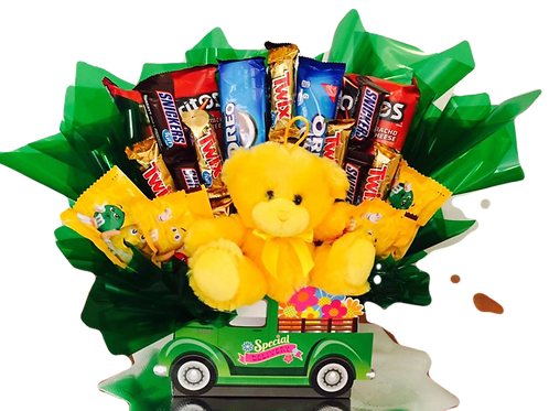 Special Delivery Bear Bouquet