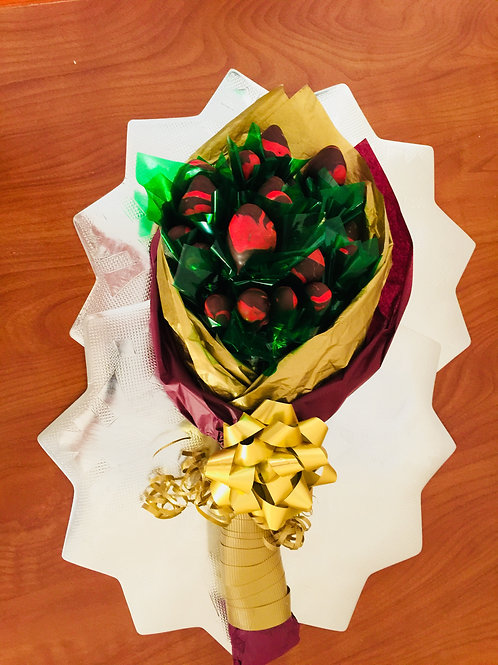 Chocolate Roses (Strawberries) Only