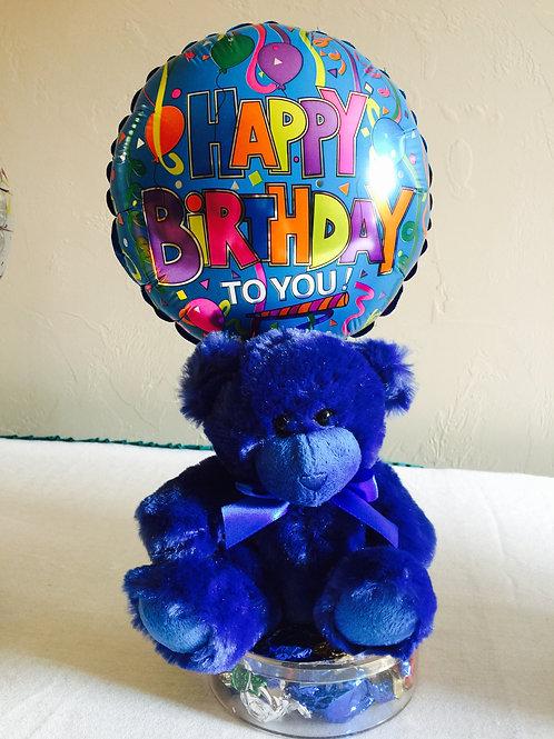 Happy Birthday Bright Bears with Hard Candy