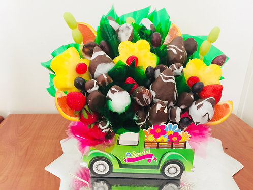 Double Chocolate and Fruit Bouquet