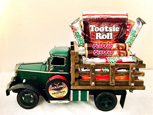 I like how you Roll Green Truck Gift