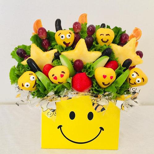 Emoji Fruit Bouquet