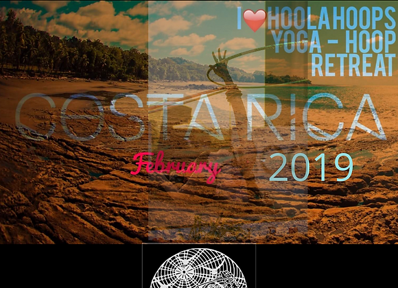 February 13-21st 2019. Hula Hooping Yoga Surf Retreat