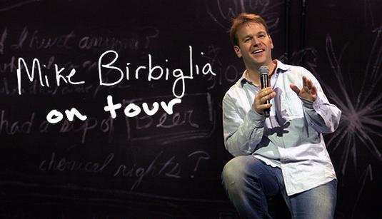 Mike Birbiglia on tour