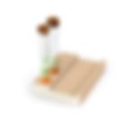 Objeto Moderno, Criativo, de madeira e vidro, para decoração de escritório. Brasil, Estado de São Paulo - SP, Holambra, Cidade das Flores