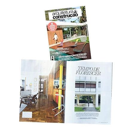 Revista Arquitetura e Construção agosto 2015