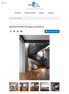 apartamento duplex, Shinagawa arquitetura
