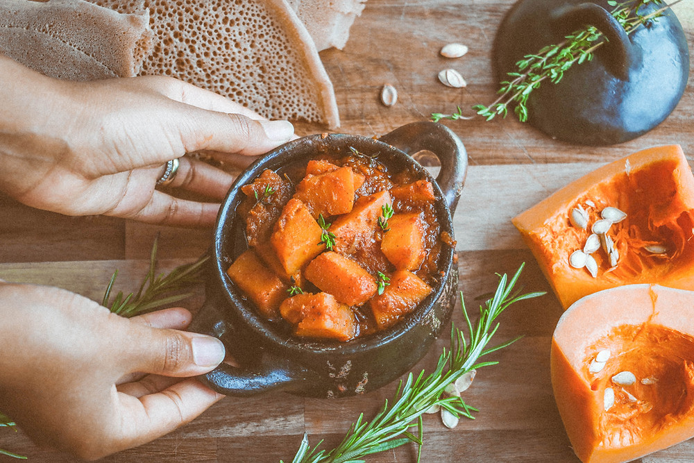 Duba Wot - Ethiopian Vegan Food - ethiopianfoodie