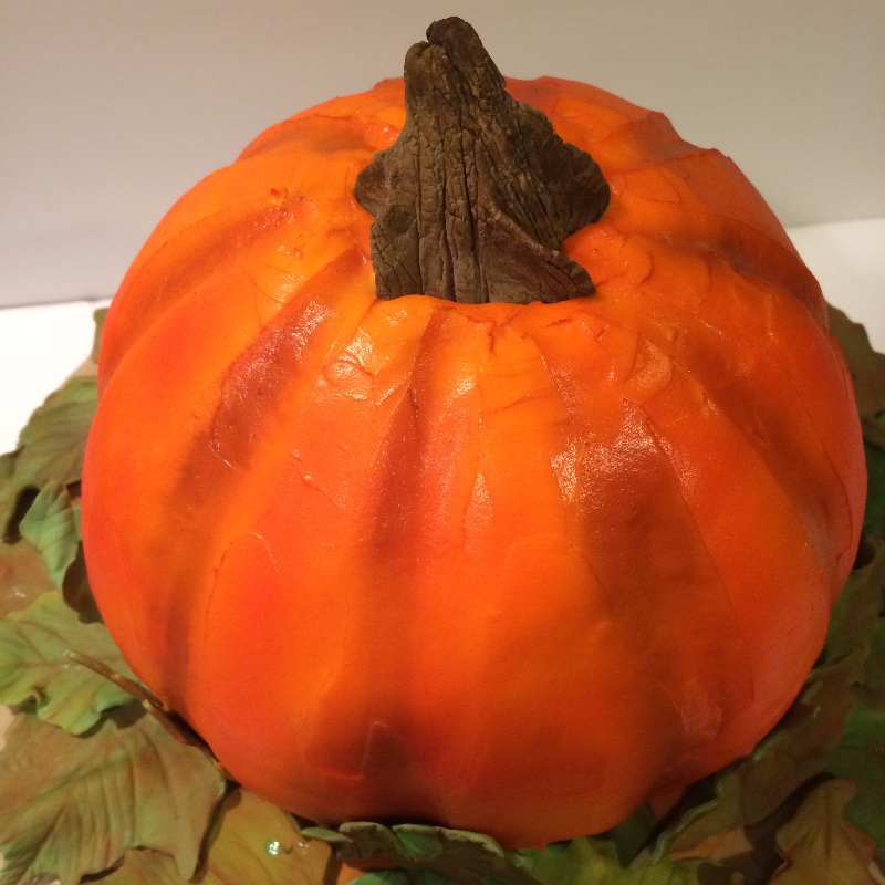 Fall Pumpkin Cake