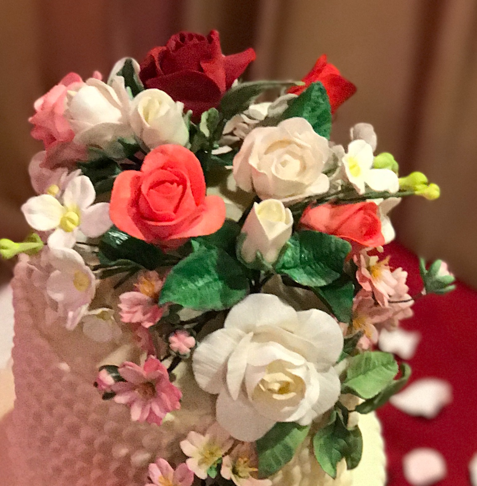 Sugar Flower Toppers