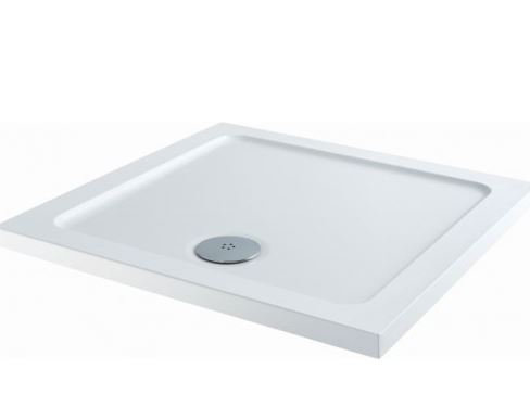 40mm Square Shower Tray 700x700