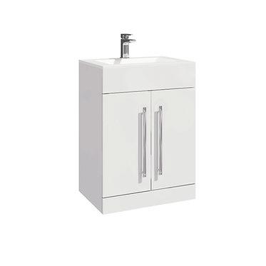 LILI 600 Vanity Unit Gloss White