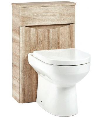 Bella 500 WC Unit Bardolino Driftwood Oak