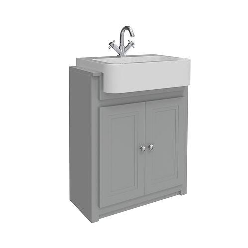 Classica Vanity Unit and Basin Stone Grey