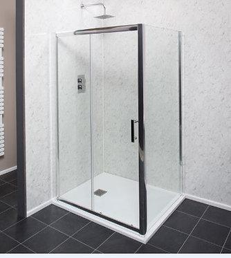 6mm Easy Clean Sliding Doors Side Panel 900mm