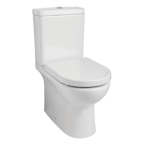 Revive Closed Back Pan With Cistern and Seat