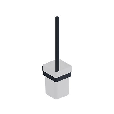 Mono Toilet Brush Set Matt Black