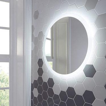 Lunar LED Mirror