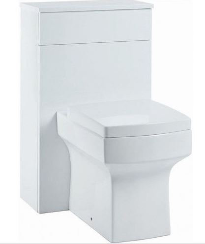 Muro 500 WC Unit Gloss White