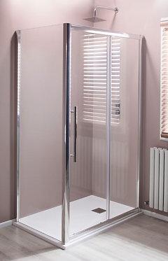 8mm Easy Clean Sliding Doors Side Panel 760mm