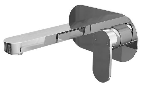 Filo Wall Mounted Basin Mixer Tap