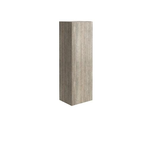 Ambience Tall Boy Cabinet Grey Oak