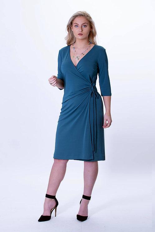 Orion Jersey Wrap Dress