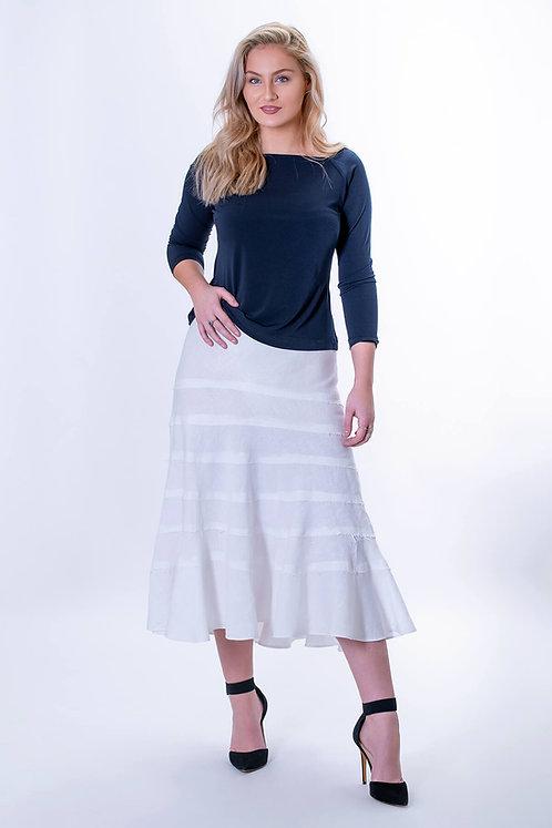 Sierra Tiered Bias Skirt