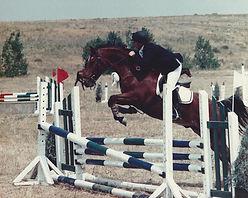 Trish began working for a hunter-jumper barn in high school