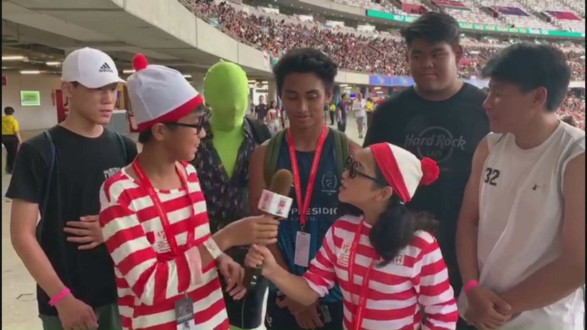 Where's Wally? | HSBC Singapore Rugby Sevens 2019