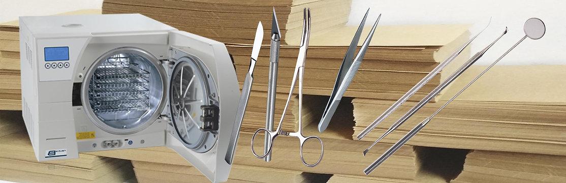 Крафт бумага для стерилизации инструментов медицинских