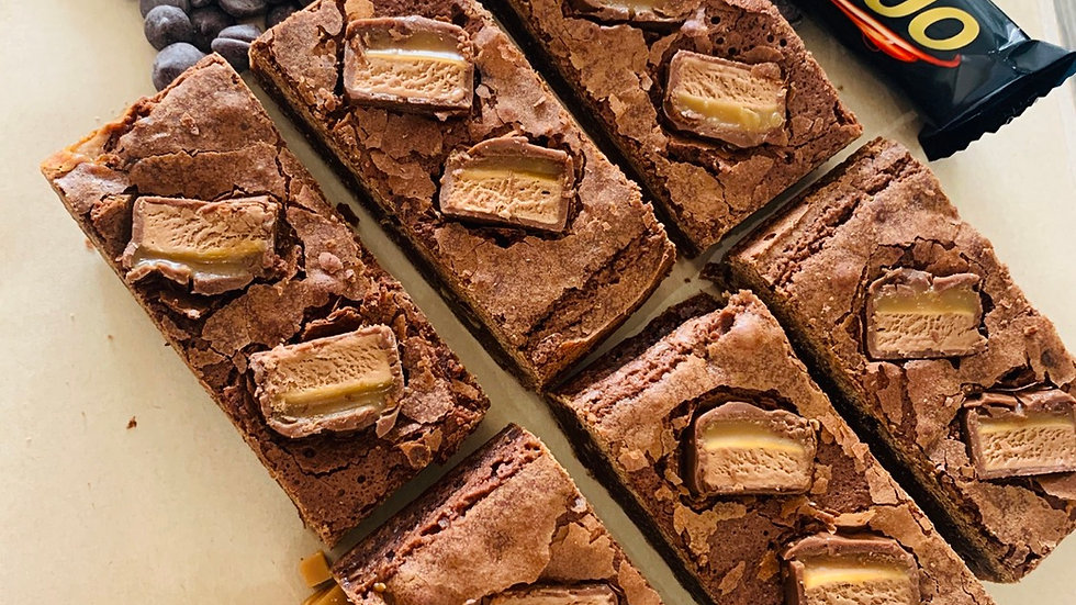 Planet Mars Brownies
