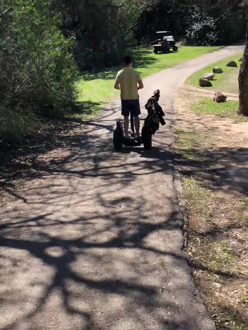 Austin Segway Golf Demo