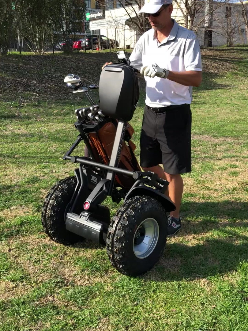 Video Instruction Segway Golf