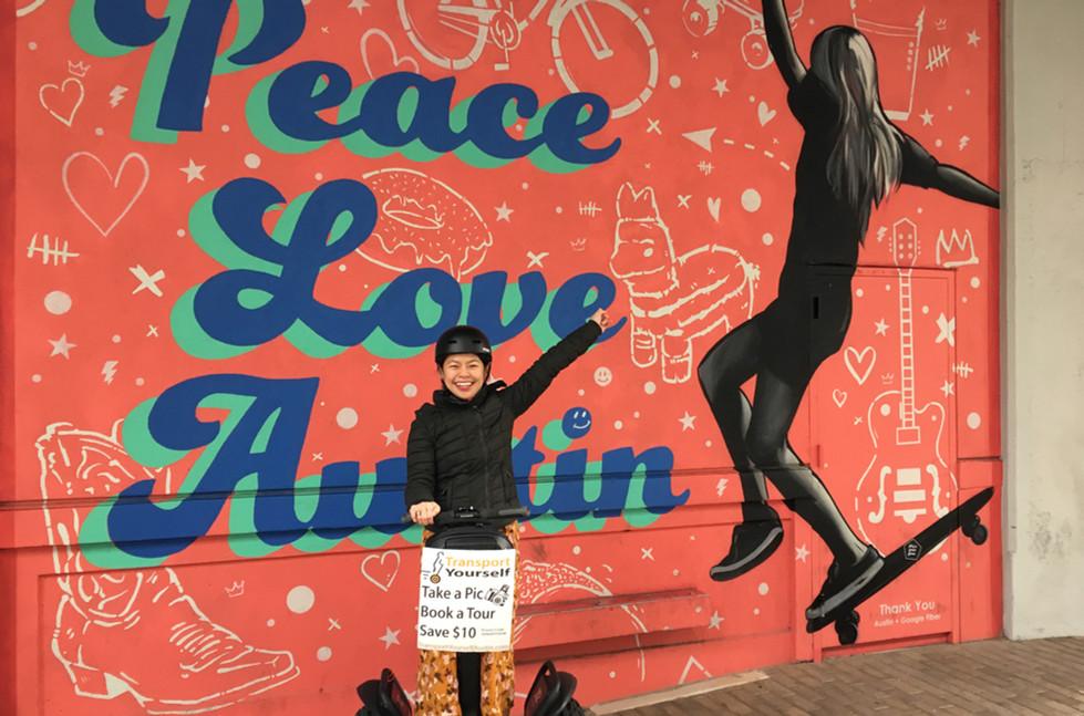 Peace Love Austin