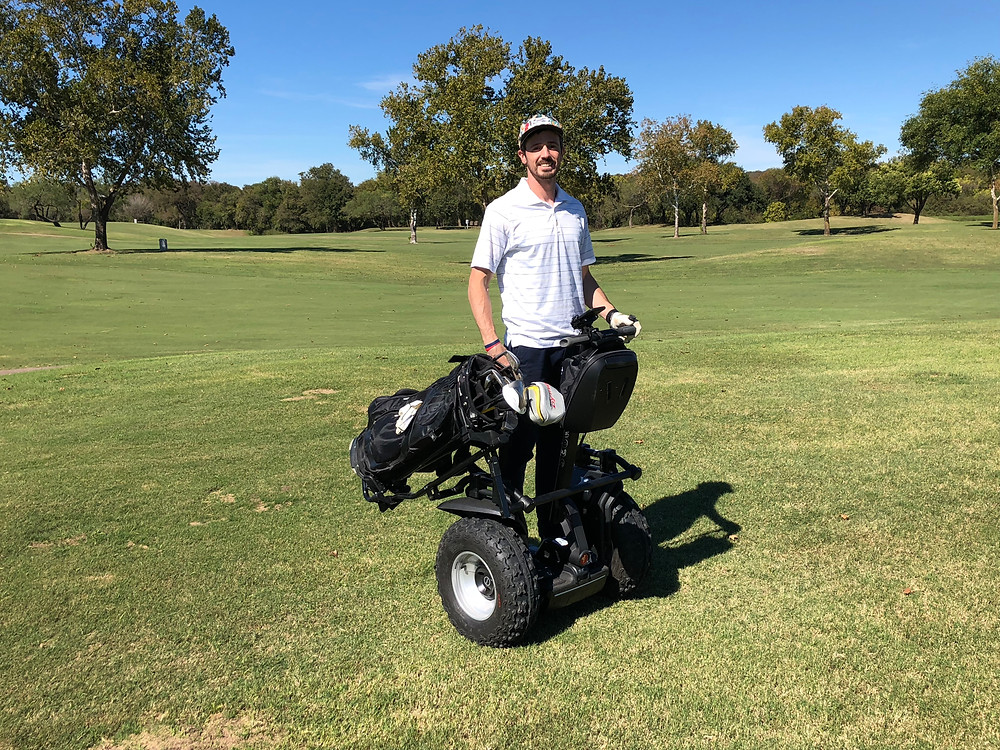 Transport Yourself - Segway Golf Austin