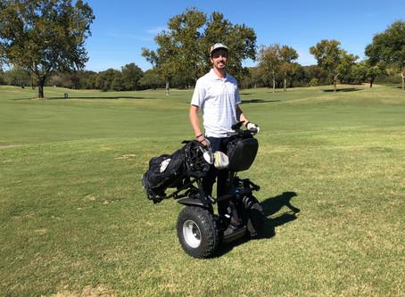 Segway Golfing in Austin