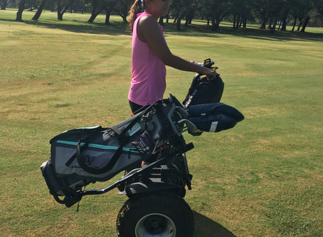 Now Booking Segway Golf @ Golf ATX