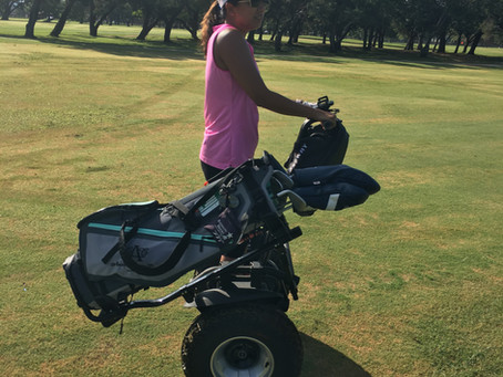 Now Booking Segway Golf @ Golf ATX