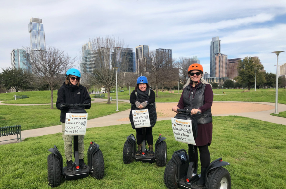 Locals love Segway® tours too