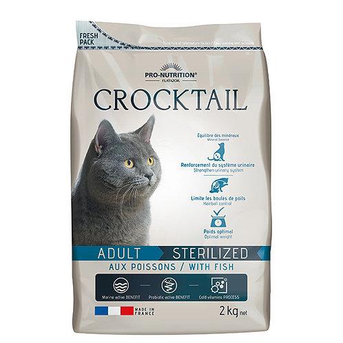 """פלטזור קרוקטל 2 ק""""ג דגים לחתולים מסורסים/מעוקרות"""