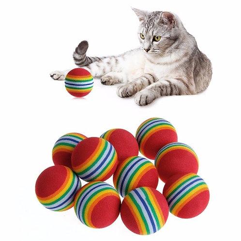 כדור ספוג קשיח לחתולים