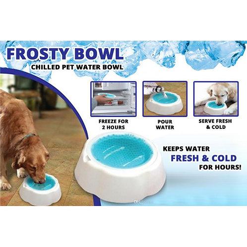 קערה לשמירה על מים קרים לכלבים קטנים ו/או חתולים