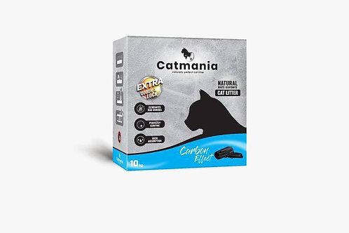 """חול מתגבש בתוספת פחם קטמאניה לחתול 20 ק""""ג"""