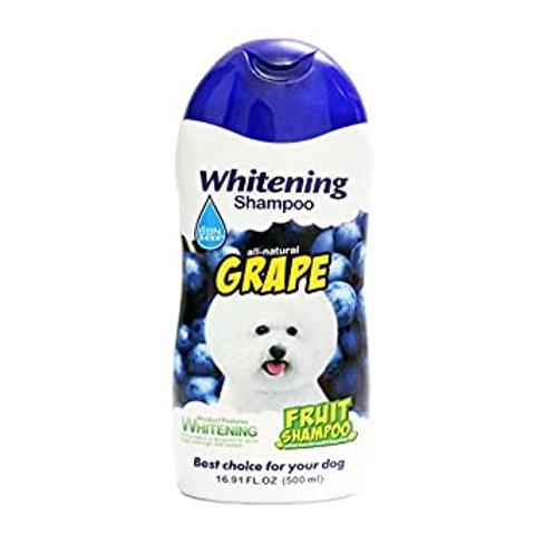 שמפו לכלבים עם פרווה לבנה