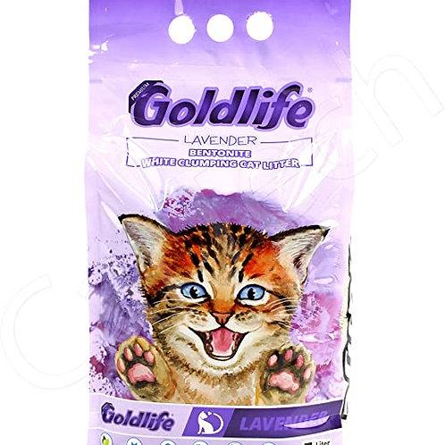 גולד לייף חול מתגבש לחתול בניחוח לוונדר 10 ליטר