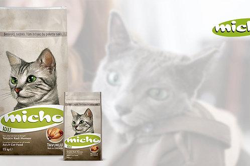 """מיצ'ו  15 ק""""ג מזון לחתולים"""