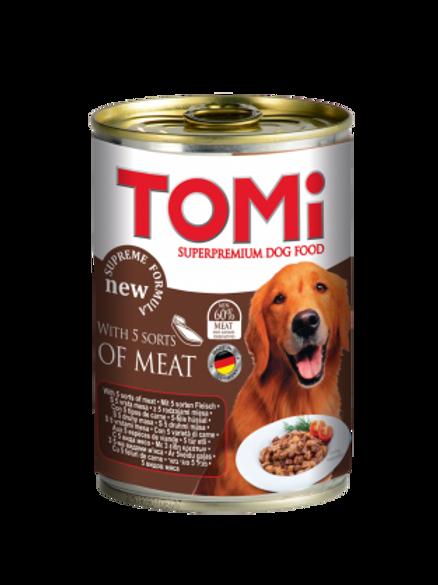 שימור טומי מבחר בשרים לכלב