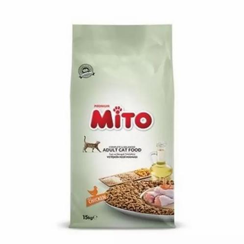 """מיטו 15 ק""""ג לחתולים בוגרים"""
